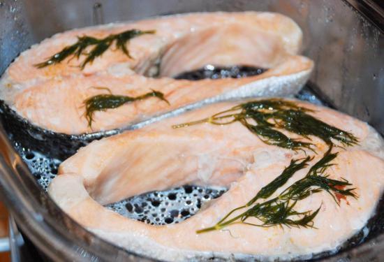 Приготовить красную рыбу в мультиварке рецепт